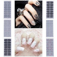 Decal rhinestone sticker - New Fashion Nail Art Crystal DIY Stickers Tips Decal Decoration Professional D Rhinestone Nail Art Stickers set ZZU
