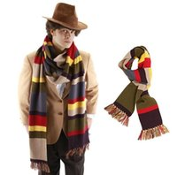Wholesale Elope Doctor Who Fourth Doctor Scarf Doctor Who Scarf dr who Tardis Scarf winter scarf FT and FT with tag best gift