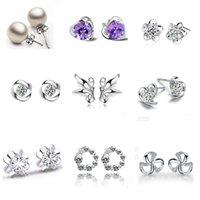 Cheap 925 silver earrings Best stud earrings