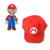 Wholesale Super Mario Bros Cosplay Cap Colors Supermario Octagonal CAp Baseball Hats Adult Cartoon Hat