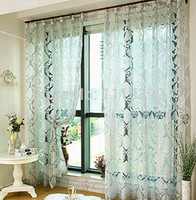 drapes curtains - Fashion window screening tulle luxury curtains for the bedroom living room design voile curtain drapes