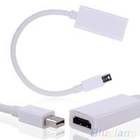 Wholesale Mini Display Port Thunderbolt DP To HDMI Adapter Cable For Mac Macbook Pro Air TYK