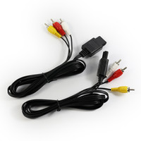 cable for tv game - DHL shipping FT AV TV Video Cord Cable For Nintendo N64 Game Cube New Black waitingyou