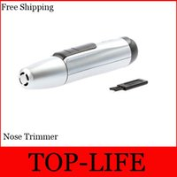 Wholesale Nose Ear Face Hair Trimmer Electric Shaver Clipper Battery Powered Operated Cleaner from both Men and Women