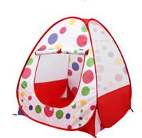 Wholesale hot sale Children Kids Play Tent toy game house baby beach tent indoor outdoor tent
