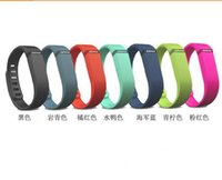 Wholesale New Arrival Replacement Rubber Band Fitbit Flex Wireless Activity Bracelet Wristband With Metal Clasp No Tracker