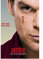 big dexter - Christmas Gift Decoration For Bedding Living Room Posters TV Series Dexter She Saw He Saw Big x75cm Wall Sticker