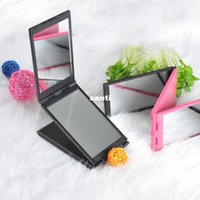 Wholesale Touch Beauty panel foldable mirror panorama mirror portable mirror foldable mirror for all angles