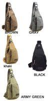 venda quente do vintage Homens Messenger Bags Casual Viagens Outdoor Caminhadas Casual Desportivo Canvas Peito Bolsa de Ombro Masculino pequeno Militar Retro