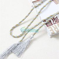 Wholesale New Cotton Rope Tassel Curtain Fringe Tiebacks Tie Backs Room Decor Colors