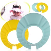 Wholesale Safe Shampoo baby Shower Bath Cap Hat For Baby Children Kids Gorro de ducha Tonsee