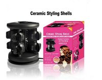 Wholesale Ceramic Styling Shells Pro Hair Curler Styler Solid Heater Hair Setter Hair Curling Styling Roller DHL