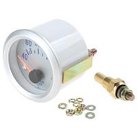 auto meter gauge temp - 2pcs quot mm Celsius Degree Water Temperature Meter Gauge with Sensor for Auto Car CEC_512