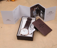 luxury watch - Top Brand Luxury Daniel Wellington Watches DW Watch For Men women Leather strap Military Quartz Watch Relojes With Box Package