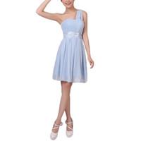 Wholesale S5Q Elegant Women Bridesmaid Dress Sexy Party Evening Wedding Prom Ball Formal Dress AAAEMI