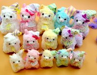 Unisex alpaca coats - Japanese Arpakasso amuse Genuine Sheep plush doll alpaca tags high Good Night sleep coat shawls alpaca cm Stuffed Animals Plush Toys