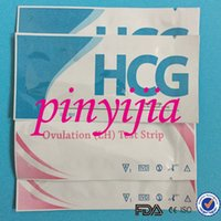 Wholesale High Quality CE Approved One Step HCG Pregnancy Test Strip LH Ovulation Test Strip By DHL