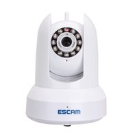 Wholesale Escam For Cat QF300 Security Camera ONVIF HD P P2P Pan Tilt IR Household IP Dome Cameras Lens Viewing Angle mmF1