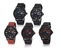 acrylic top table - 2015 Top Fashion Sale Men Reloj Trade Harajuku Style Retro Fashion Men s Waterproof Quartz Watch Male Table Personalized Serrated Bezel
