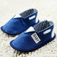 Cheap 2015 blue jeans boy elastic soft bottom toddler baby casual loafers ctory wholesale hot sale baby wear 5 pair 10pcs CL