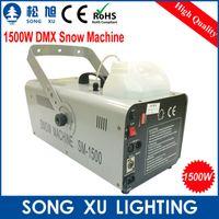 Others artificial snow maker - W DMX Snow Machine Amazing Artificial snow maker snow equipment for stage SX SM1500A