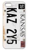 apple tv black - Yark CW TV Play Supernatural License Plate KANSAS KAZ Y5 Hard Plastic Phone Case Cover for iphone s s c plus