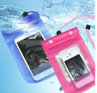 Wholesale Universal Mobile Phone Waterproof Bag case cover waterproof case For iPhone Samsung etc Plus cellphone case colors