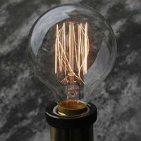 arte antiques - Edison tungsten filament vintage antique Arte Lights Bulbs Reproduction light G80 E26 E27 V V Halogen Bulbs order lt no