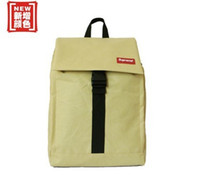 Wholesale new casual solid men women small travel backpack oxford cloth preppy style school bag female knapsack X06886