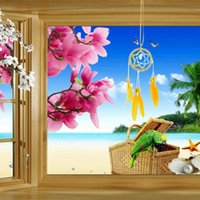 Wholesale Hot Sale Car Ornaments Feather Pendant Home Decoration Dream Catch Wind Chimes Bell Promotion