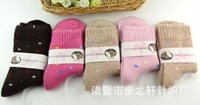 Wholesale 2015 Wool socks Hot winter socks wool socks female thick warm socks Ms pull cashmere socks terry towel and socks Factory wholesal