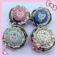 Wholesale Children Hairpin Lace Bell Chirlren Hair Accessories Baby Hair Barrettes Hair Accessories For Girls