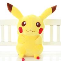 Wholesale Sample Order Pikachu Plush Kid Toys cm Cartoon Movie Soft Stuffed Animal Toys Christmas Gift For Kids S30234
