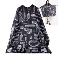 barber gown - 2016 New Adult Salon Barbers Hairdressing Hairdresser Hair Cutting Cape Gown Clothes