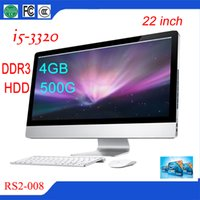 Wholesale Top Selling Cheap Desktop Computers inch All in One PC Silver Color Multifunction All in One Desktop RS2