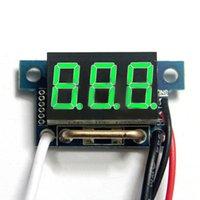 Wholesale Brandnew Red LED Digital DC Ammeter AMP Mini Current Panel Meter DC Ahot selling