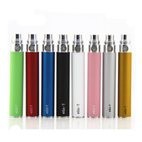 Wholesale Ego e cig cigarette battery ego t ego t electronic cigarette battery cigarettes cigs with mah and A grade cell