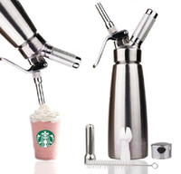 Wholesale Commercial Top Quality Desert Tools Stainless Steel Hotel Heavy Duty Whipped Cream Maker