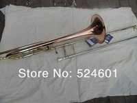 Wholesale Very good gift the replication Bach BO Superior sandhi tenor trombone musical instrument phosphor bronze horn