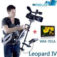 Wholesale Pro kg Wondlan Steadicam Leopard IV Standard double Arm steadycam Monitor