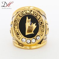 Cheap Free shipping 2014 fashion wholesale sport Ring Team 1991 Canada Hockey Cup championship ring for men ring size 11,CR-20155