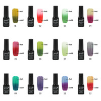 Wholesale Nail Gel Polish Temperature Change Nail Color UV Gel Polish ml Nail Gel for Nail soak off gel polish