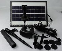 battery fountain pump - 3 W L H Pond Fountain Solar Fountain Solar Water Pump Battery LED Light