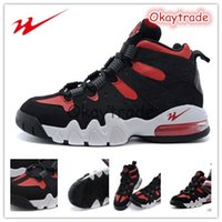 Wholesale Famous Trainers Jazovo Charles Barkley MAX2 CB Mens Sports Basketball Shoes Black Varsity Red