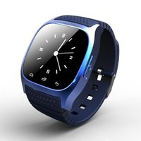 Wholesale M26 Bluetooth Smart Watch luxury wristwatch R watch smartwatch with Dial SMS Remind Pedometer for Android Samsung phone in retail box