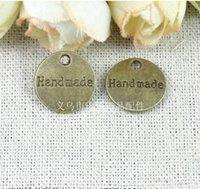 Compra Piezas de joyería de moda-RYQY14MM DIY Zakka accesorios de la joyería hecha a mano de la vendimia partes de placa / joyería de moda apropiado