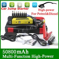 battery booster - High Quality V mAh Portable Mini Jump Starter Car Jumper Booster Power Battery Charger Mobile Phone Laptop Power Bank