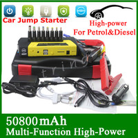 12v battery car - High Quality V Gasoline Diesel Portable Mini Jump Starter mAh Car Jumper Booster Power Battery Charger Mobile Phone Laptop Power Bank