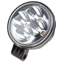 automobile trucks - 2pcs Inch Round W X W Brigelux LED Yellow Light Working Lamps for Automobile SUV Truck Lorry Motorcycle CLT_441