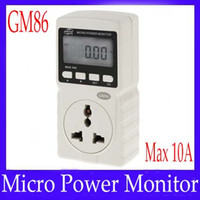 Wholesale Power plug GM86 with micro power monitor function MOQ